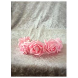 Rose head garland