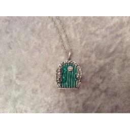 Fairy door necklace