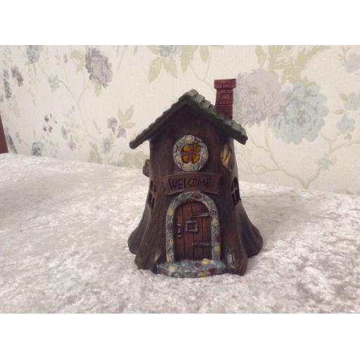 Welcome fairy house
